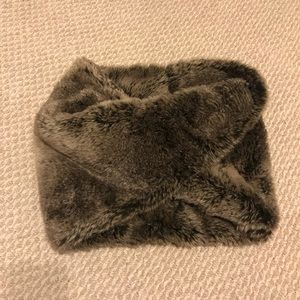 Ann Taylor Faux Fur Infinity Scarf